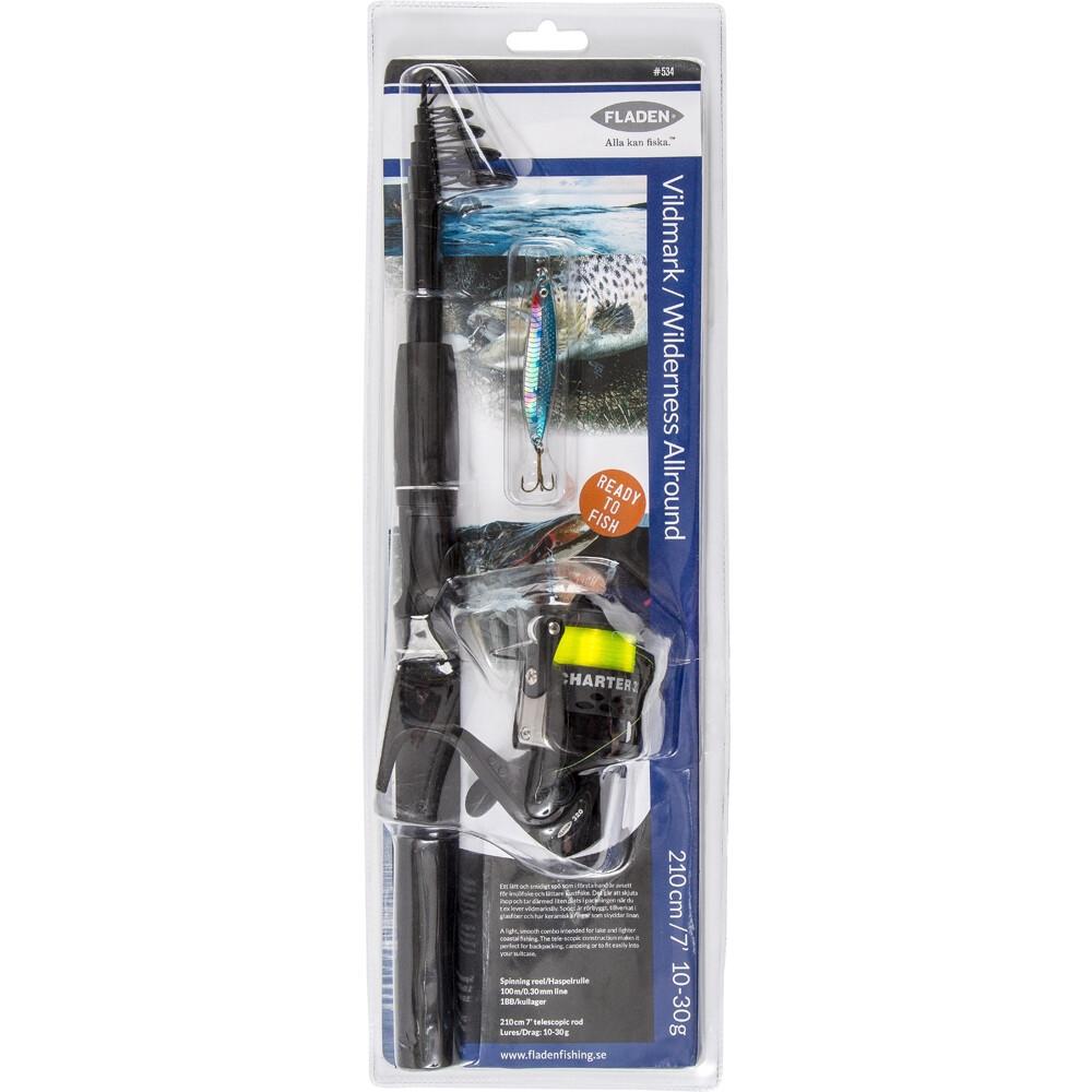 Telescopic Fishing Rod Set