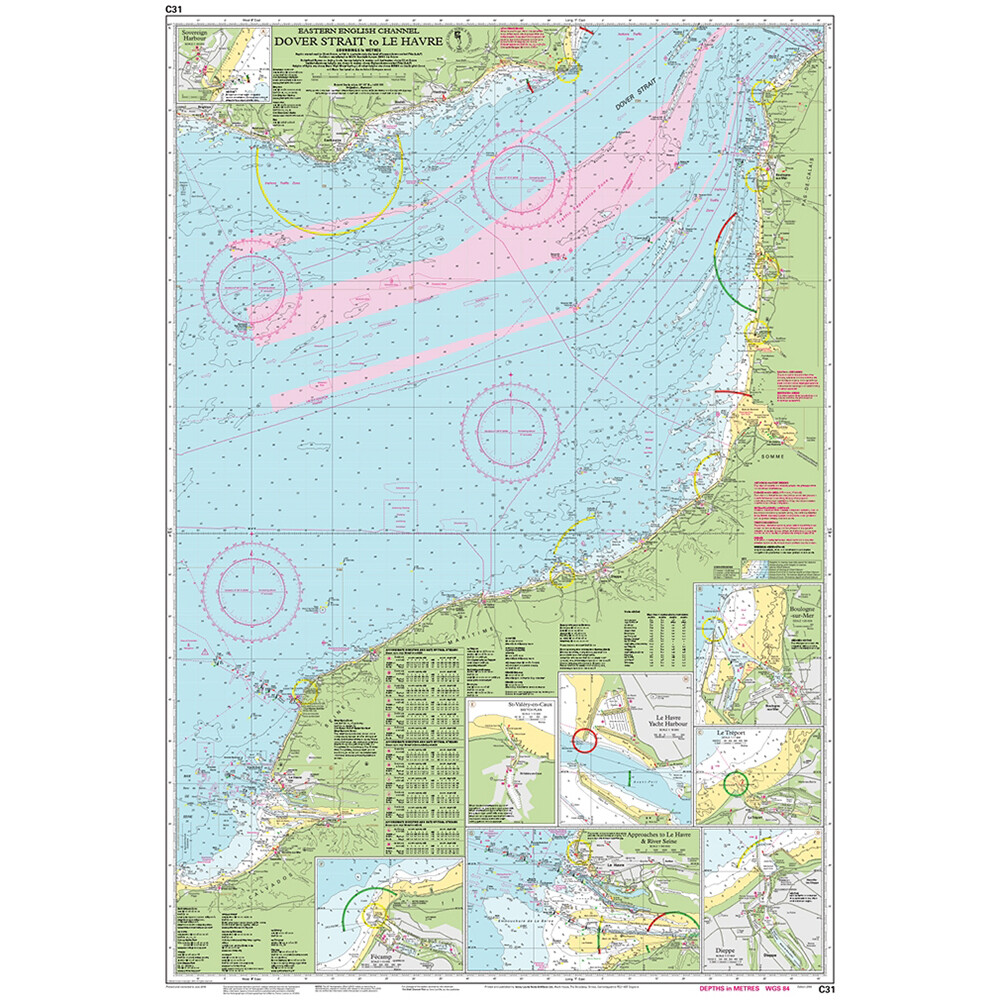 C31 Dover Strait to Le Havre