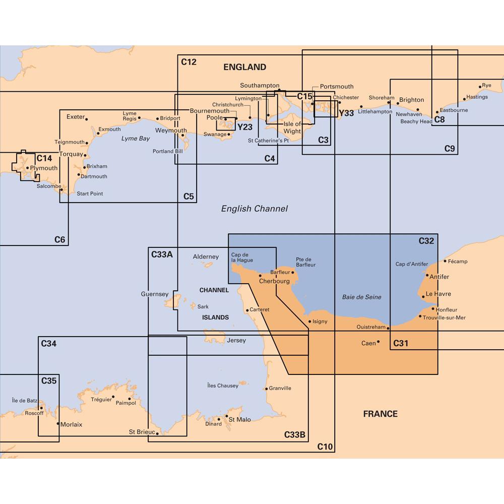 C32 Baie de Seine  Le Havre to Cherbourg