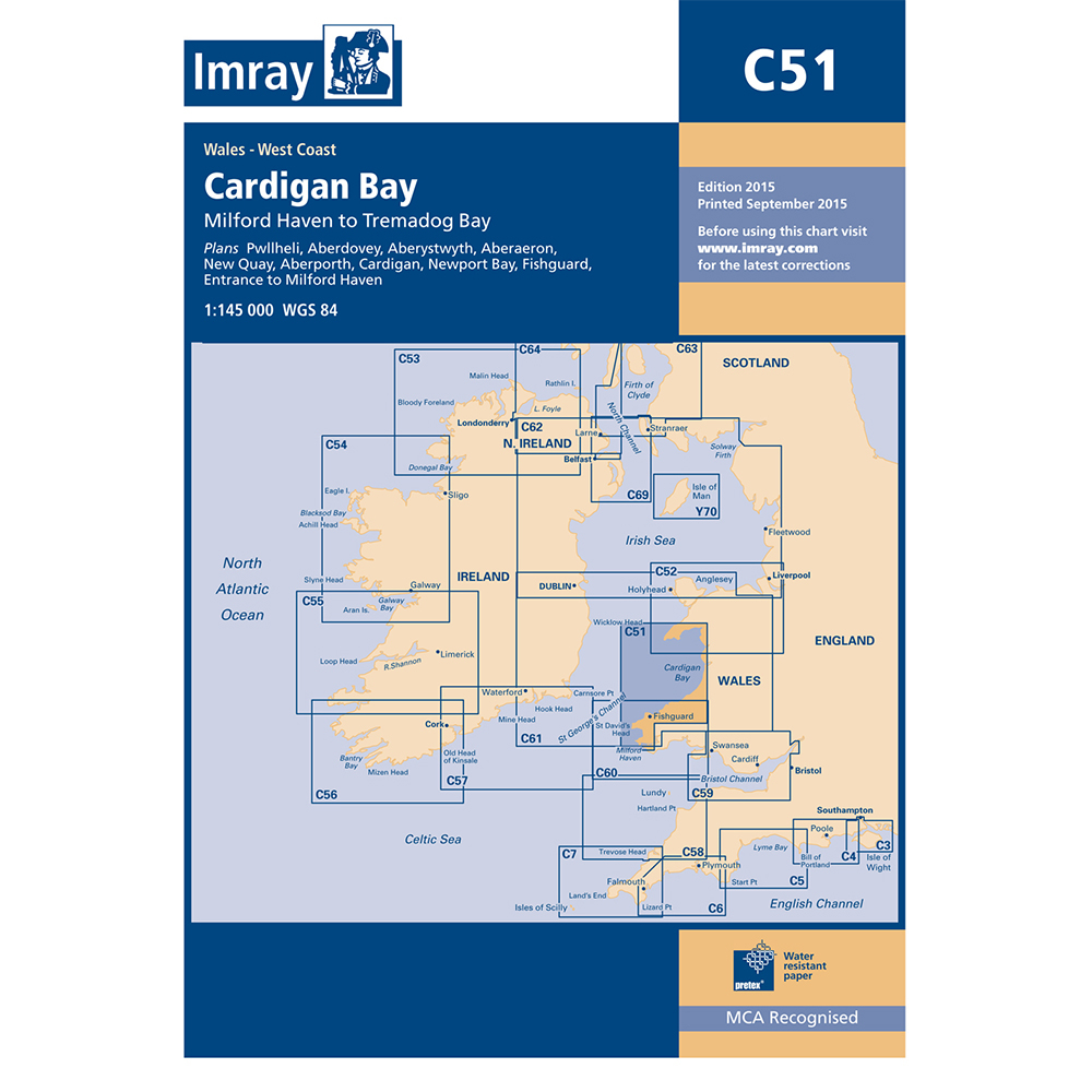 C51 Cardigan Bay - Milford Haven to Tremadoc Bay