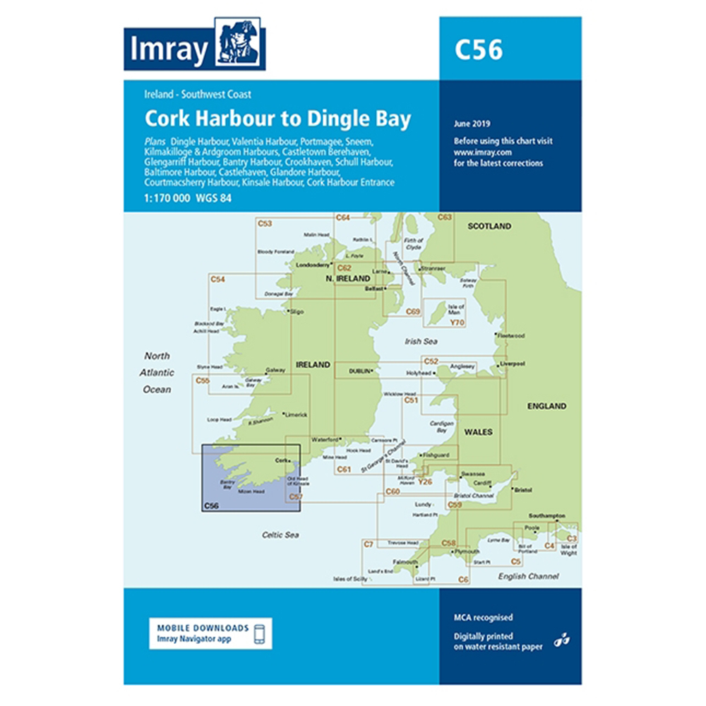 C56 Cork Harbour to Dingle Bay