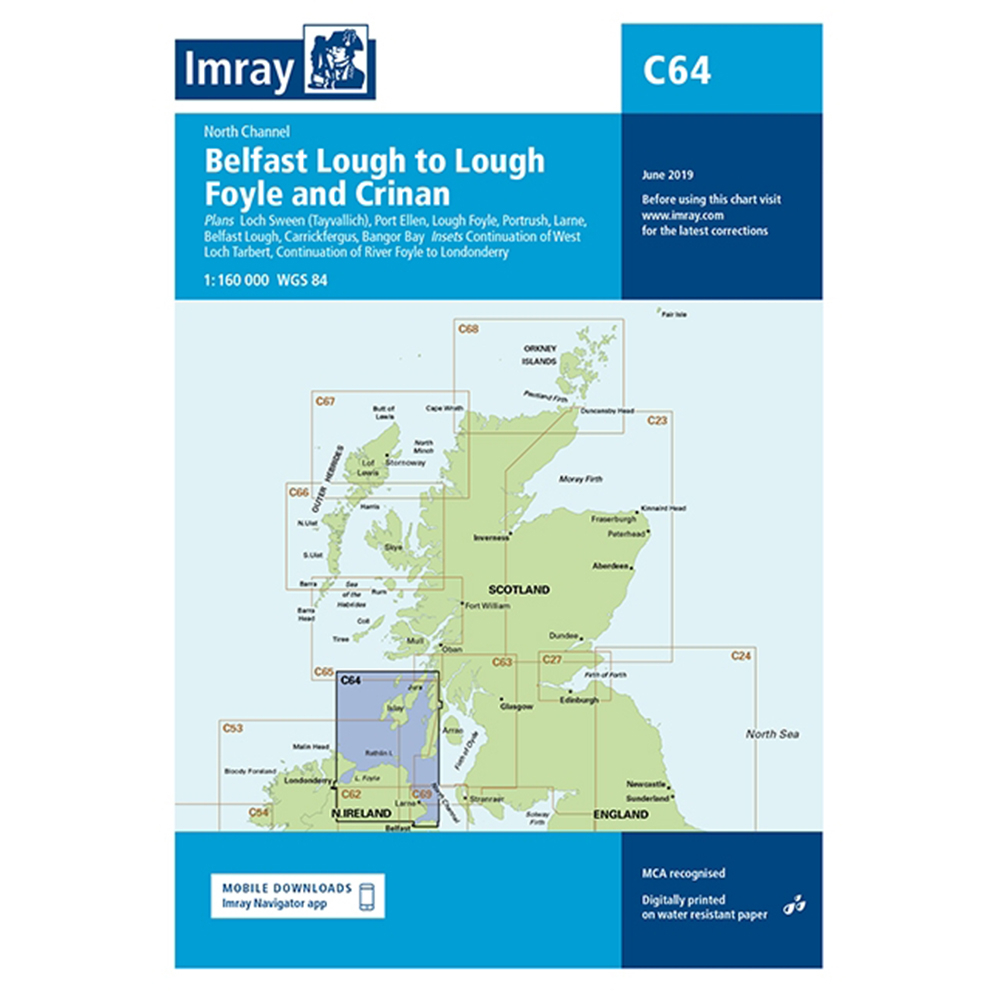 C64 Belfast Lough to Lough Foyle and Crinan