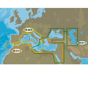 4D MAX Wide - South West European Coasts