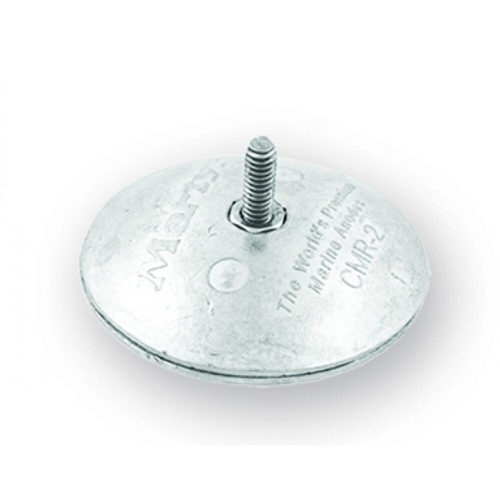 ZD52 Mini Disc Anode 50mm - Zinc
