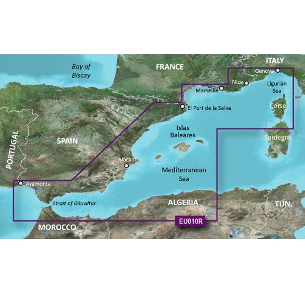 Garmin  Regular - Spain, Mediterranean Coast