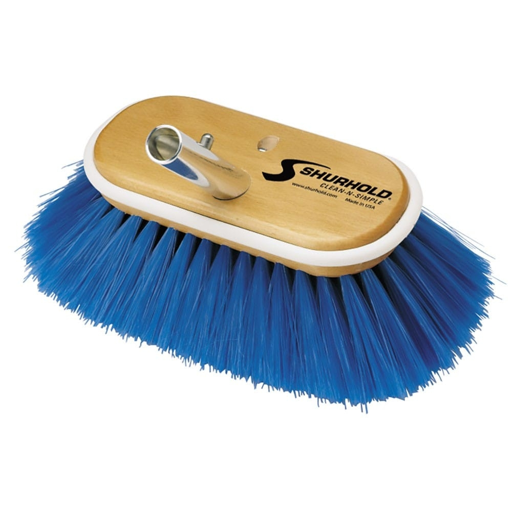 Extra Soft Brush Blue Nylon