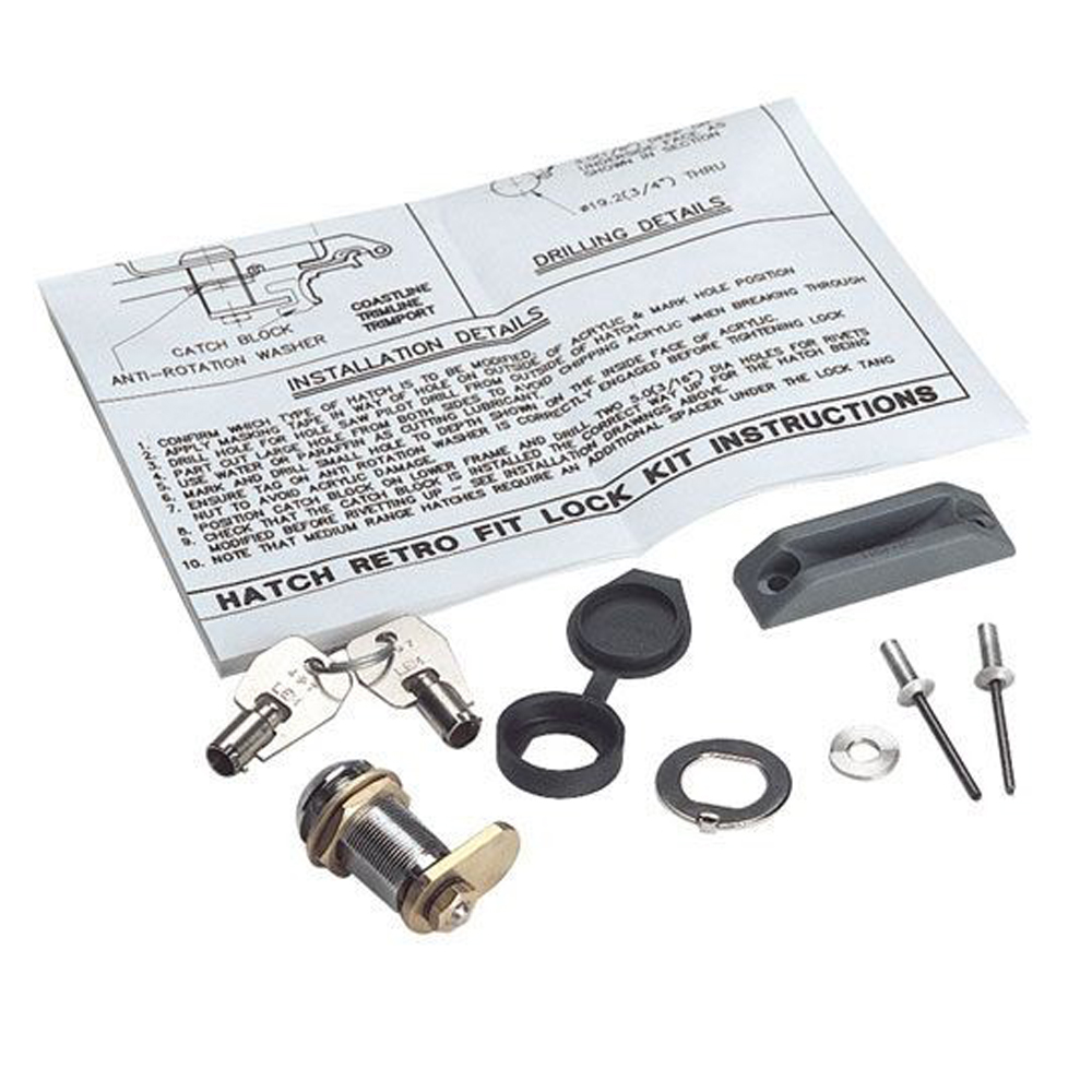 Retro Fit Hatch Lock & Key Kit