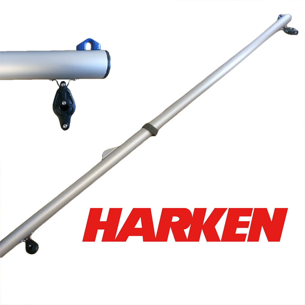 Laser Boom Including Harken Blocks