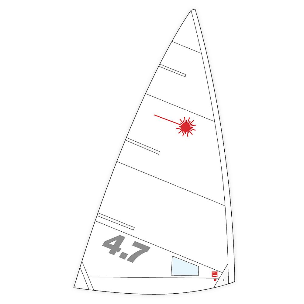 Laser 4.7 Class Legal Sail