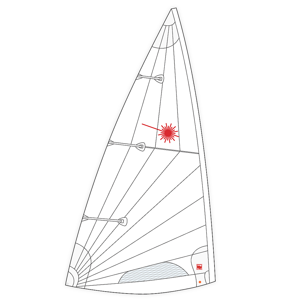 Laser Mk II Class Legal Sail