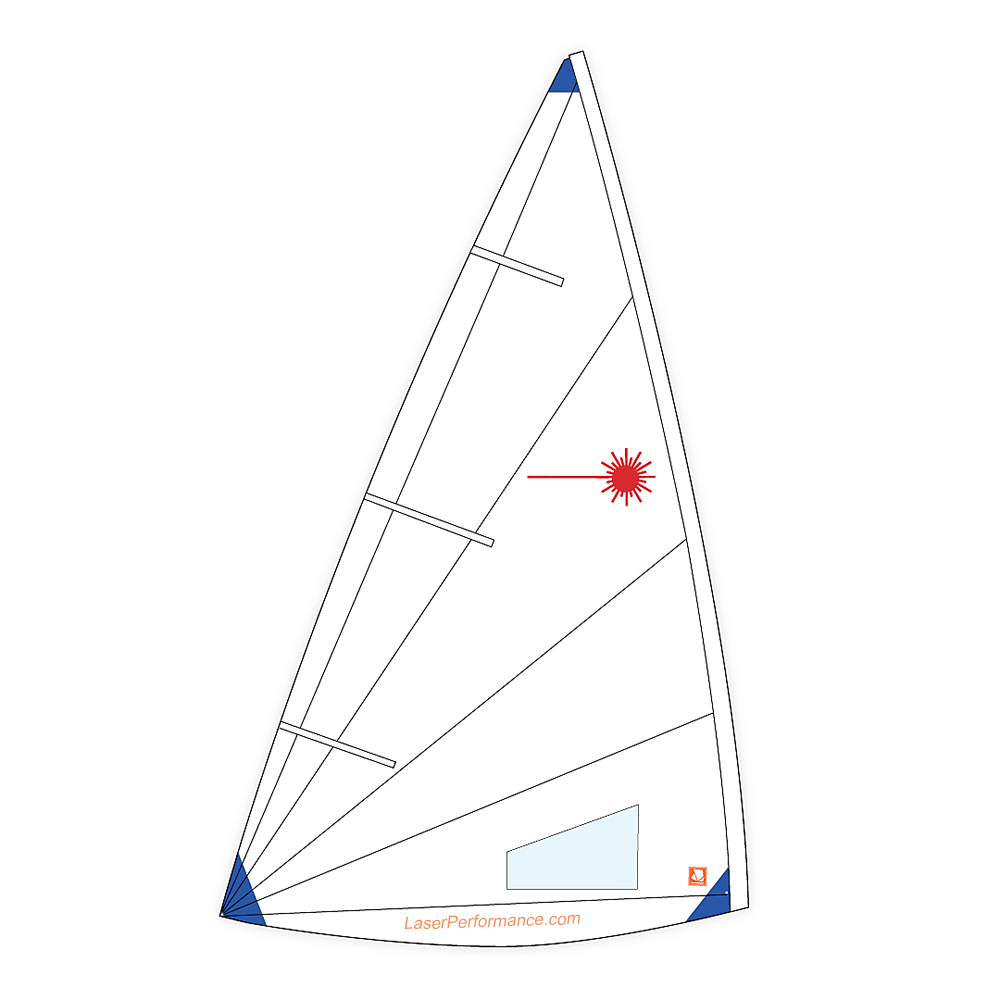 Laser Radial Training Sail