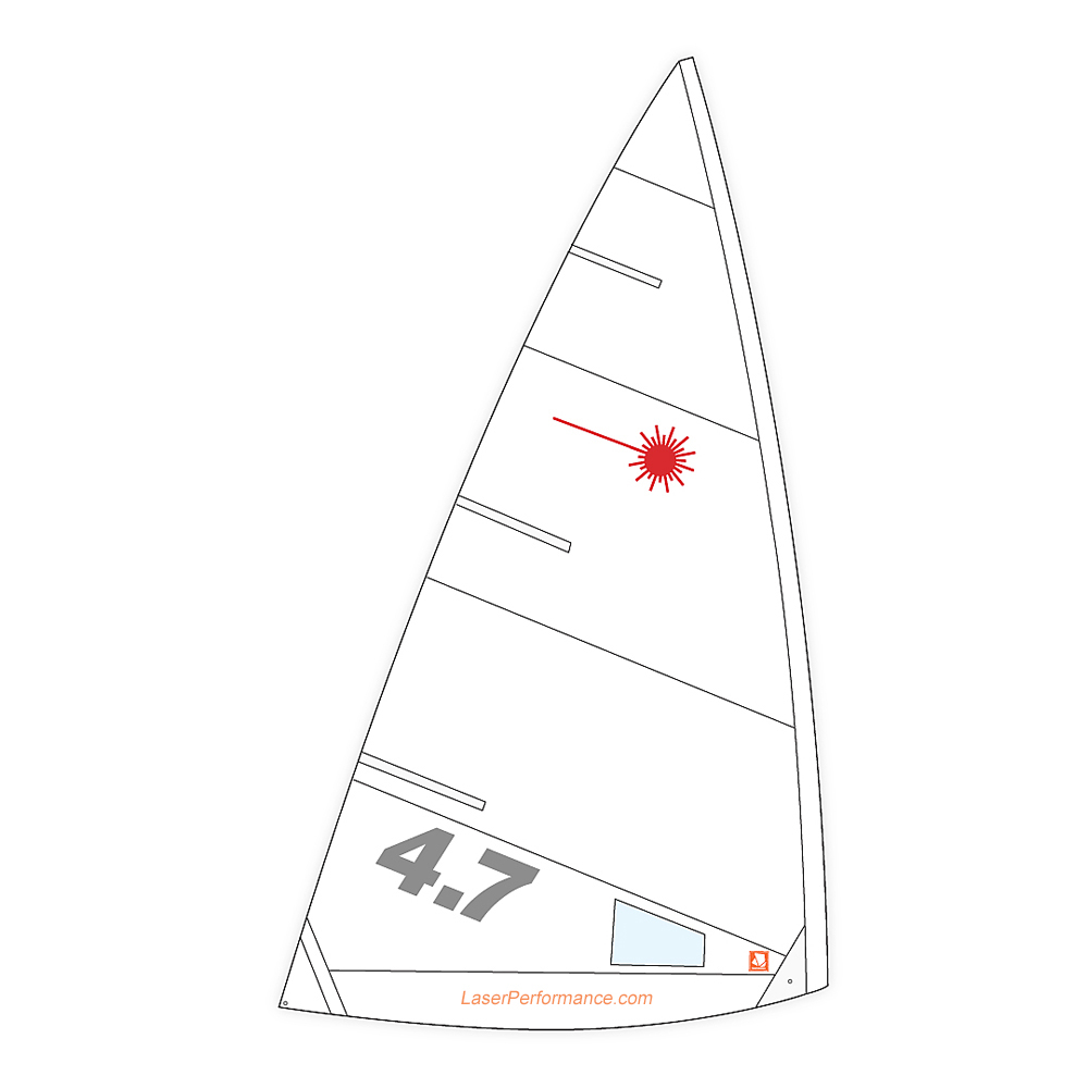 Laser 4.7 Training Sail