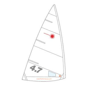 Laser 4.7 Training Sail