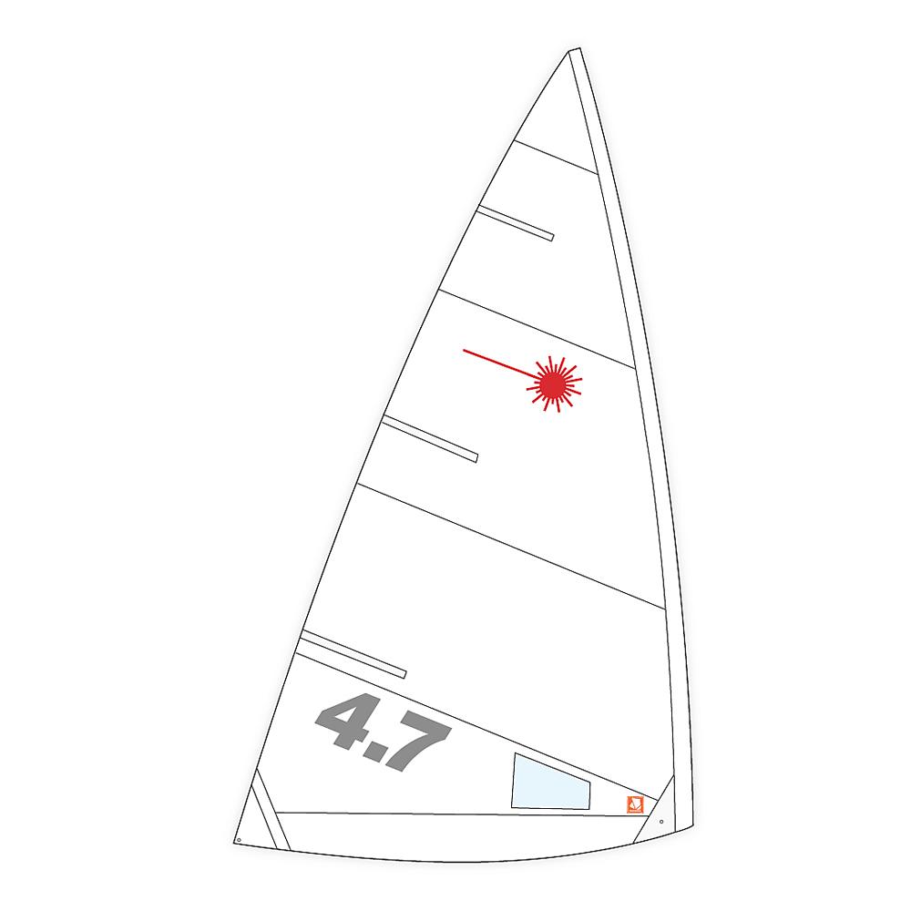 Laser 4.7 Class Compliant Sail