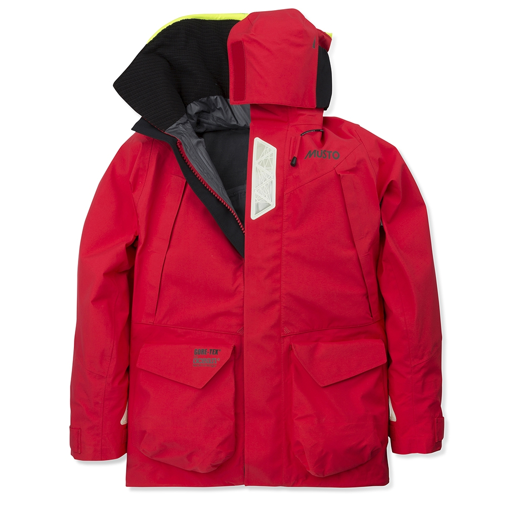 HPX Ocean Jacket Red / Dark Grey