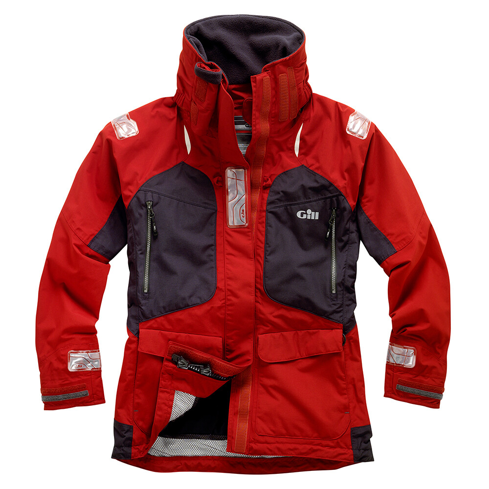 Women's OS2 Jacket Red