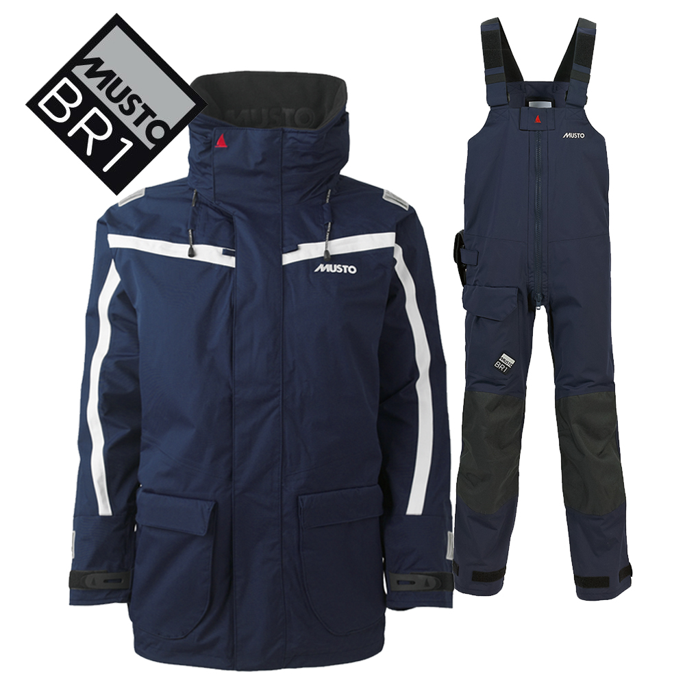 Musto BR1 Channel Suit Navy