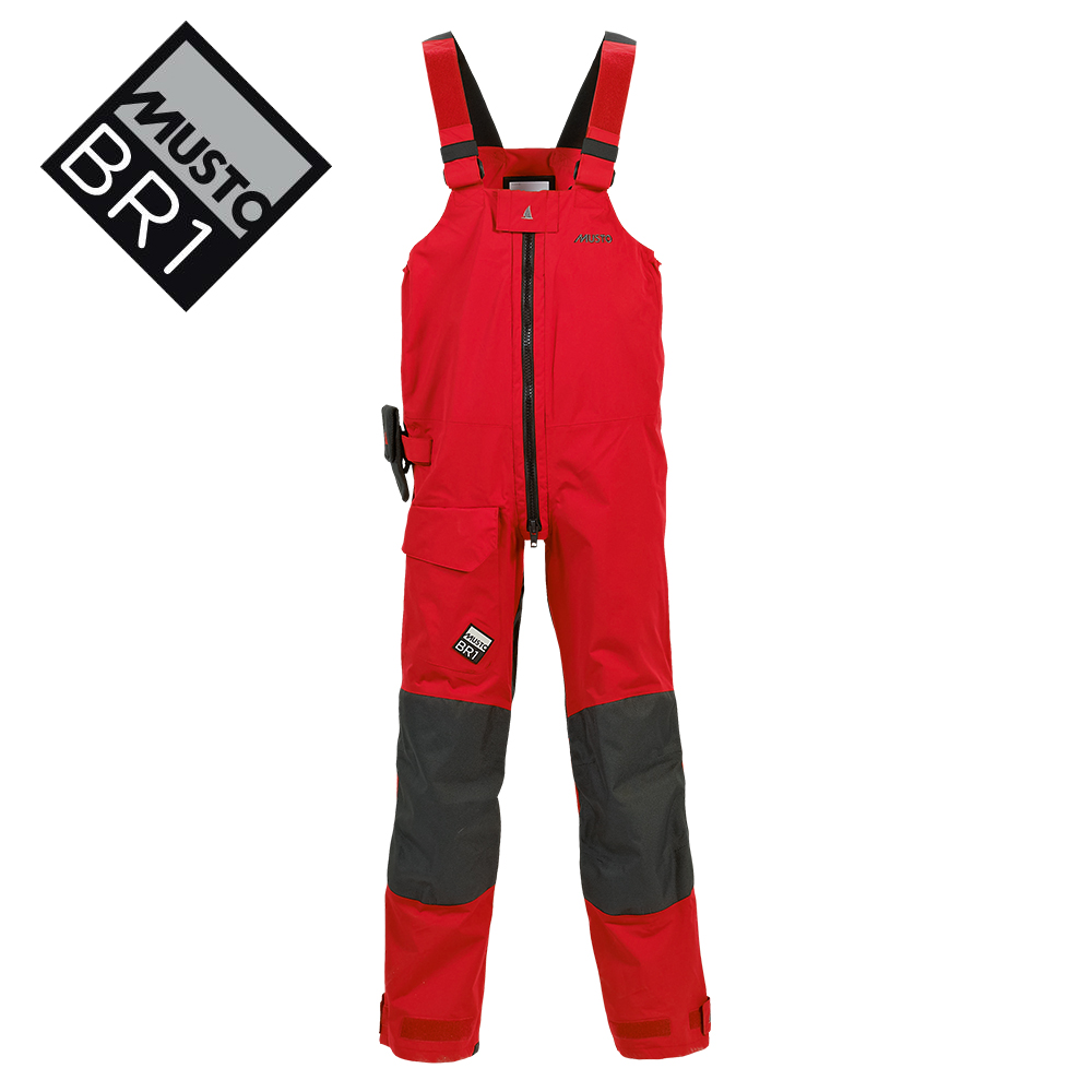 Musto BR1 Channel Suit Red