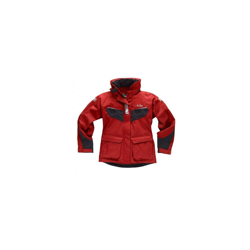 Womens Coast Jacket - Red