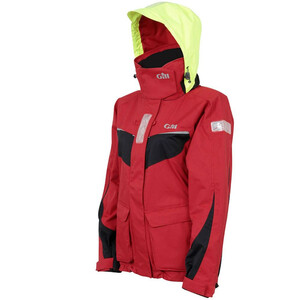 Womens Coast Jacket - Red