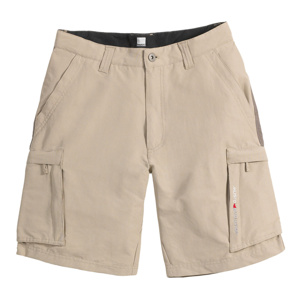Musto Evolution Tech Shorts Light Stone