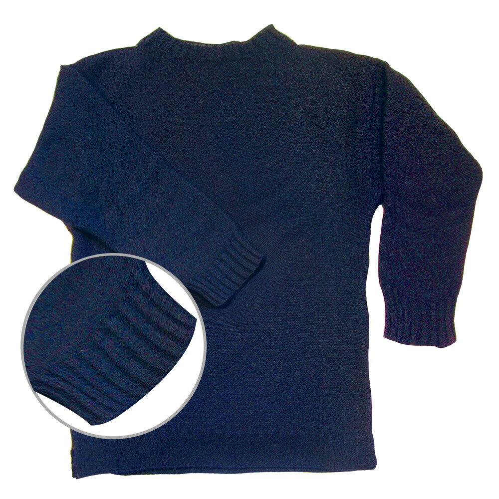 Genuine Guernsey Jumper Navy
