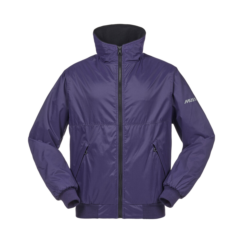 Snug Blouson Jacket Bluberry