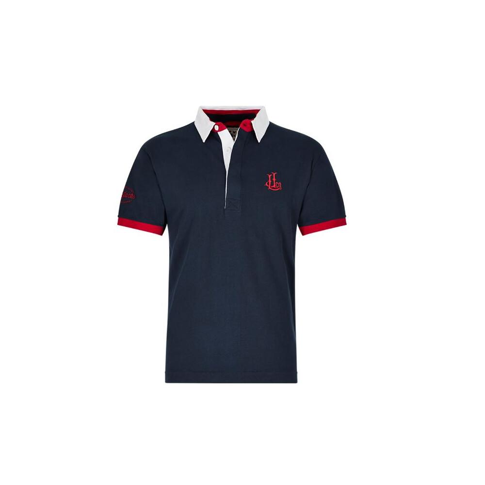 Short Sleeve Rugby Shirt - Marine