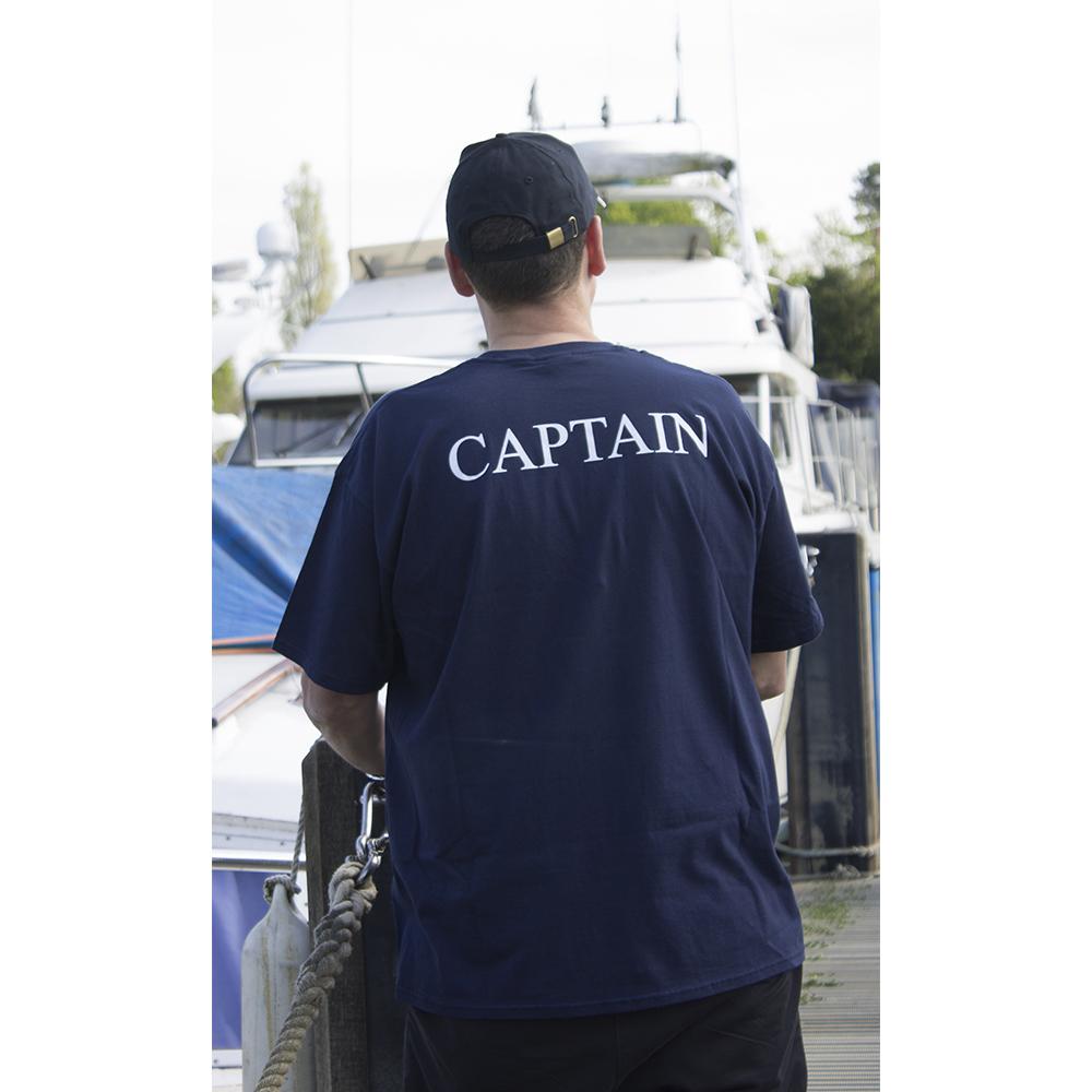 Crew T-Shirt - Captain