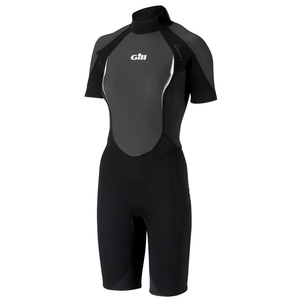 Ladies Siren Wetsuit Shorti - Black
