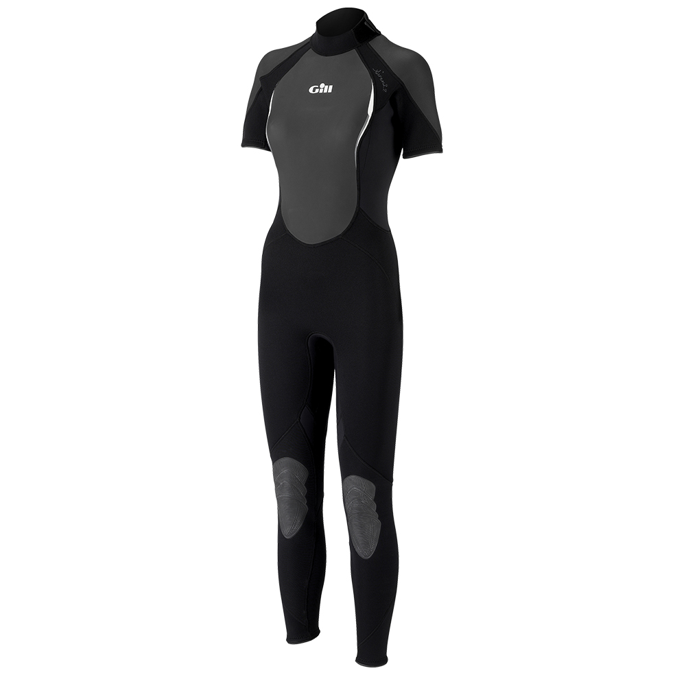 Ladies Siren Wetsuit Short Arm One Piece - Black