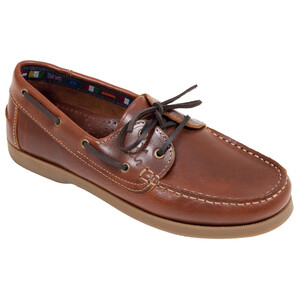 Deck shoe - leather in Brown