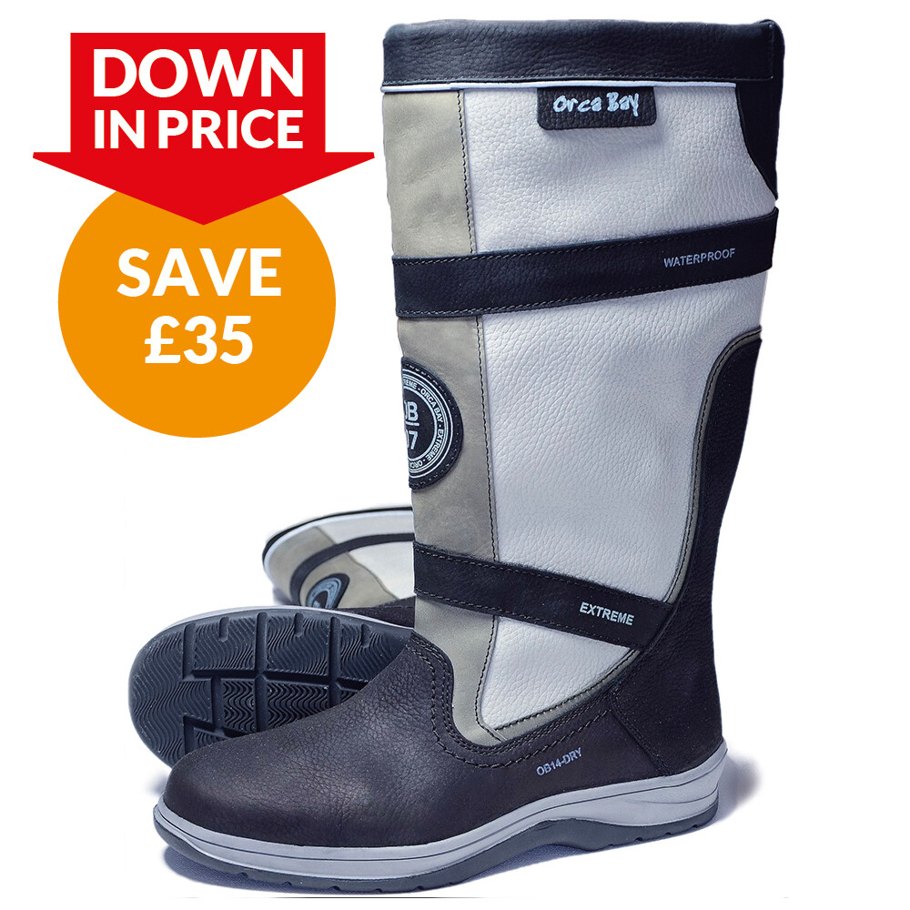 Orca Bay Waterproof Leather Storm Boot - Carbon