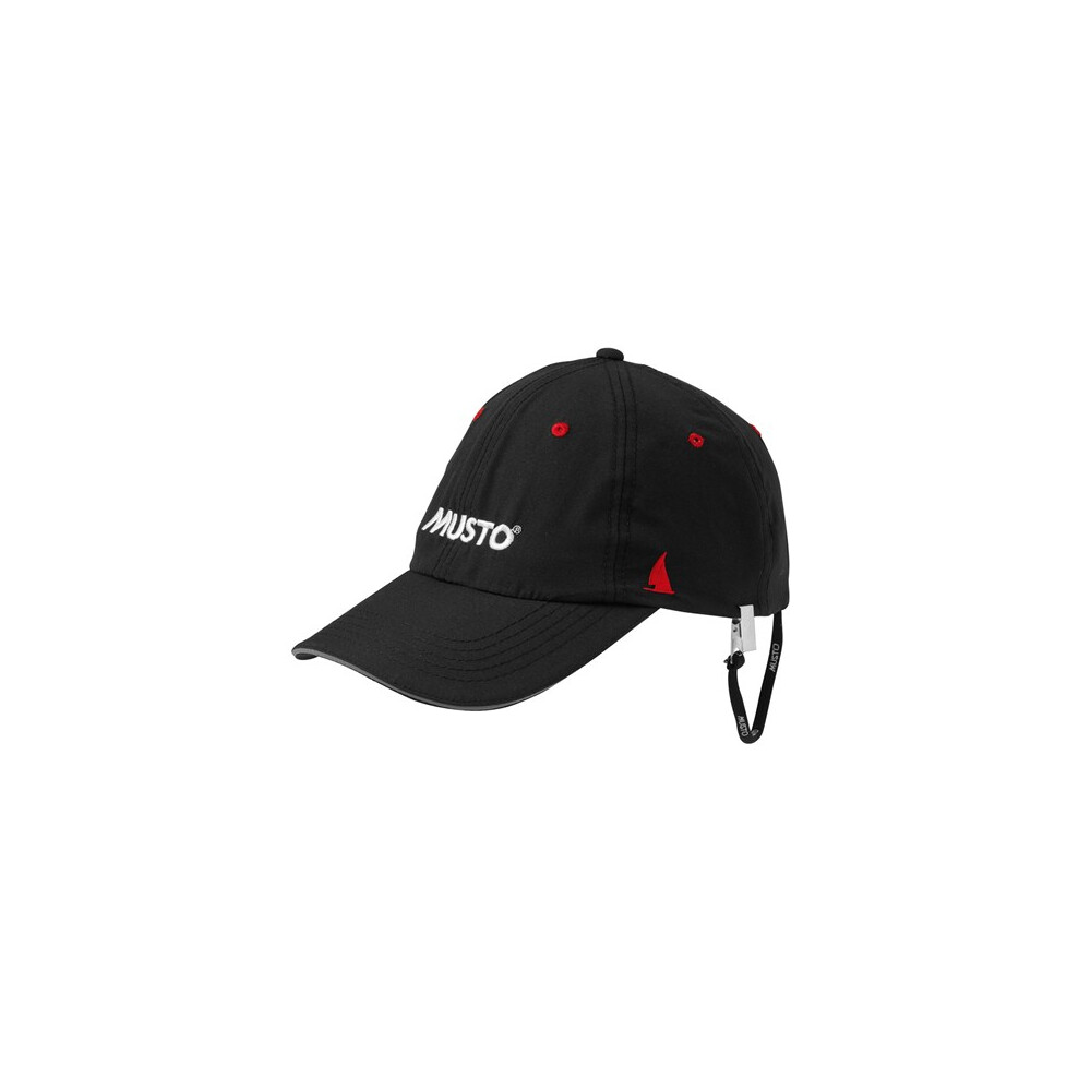 Musto Fast Dry Crew Cap Black or Light Stone