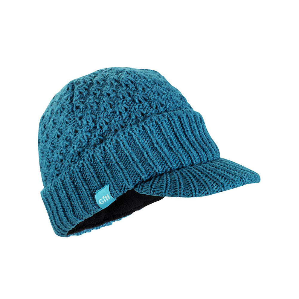 Gill Womens Peaked Beanie in Plum or Teal