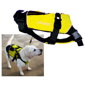 Petfloat Life Jacket for Dogs Yellow/Black