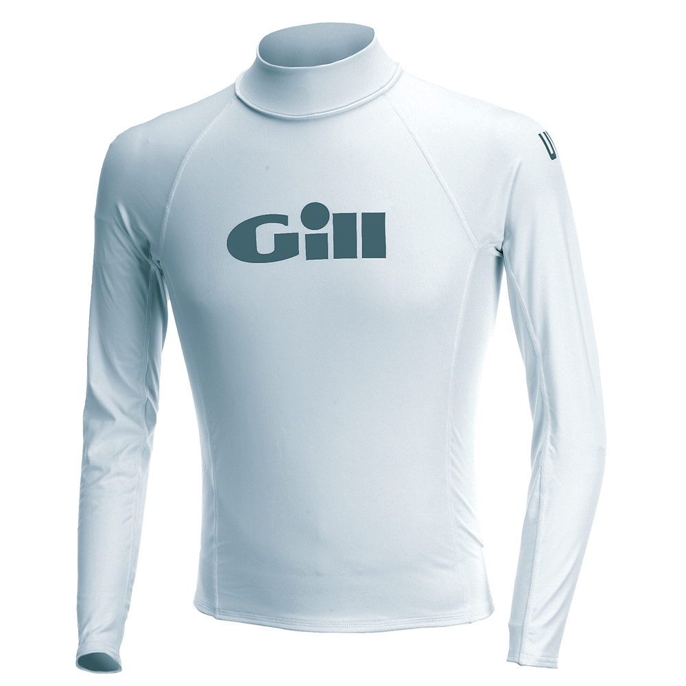 Junior Rash Vests Long Sleeve White