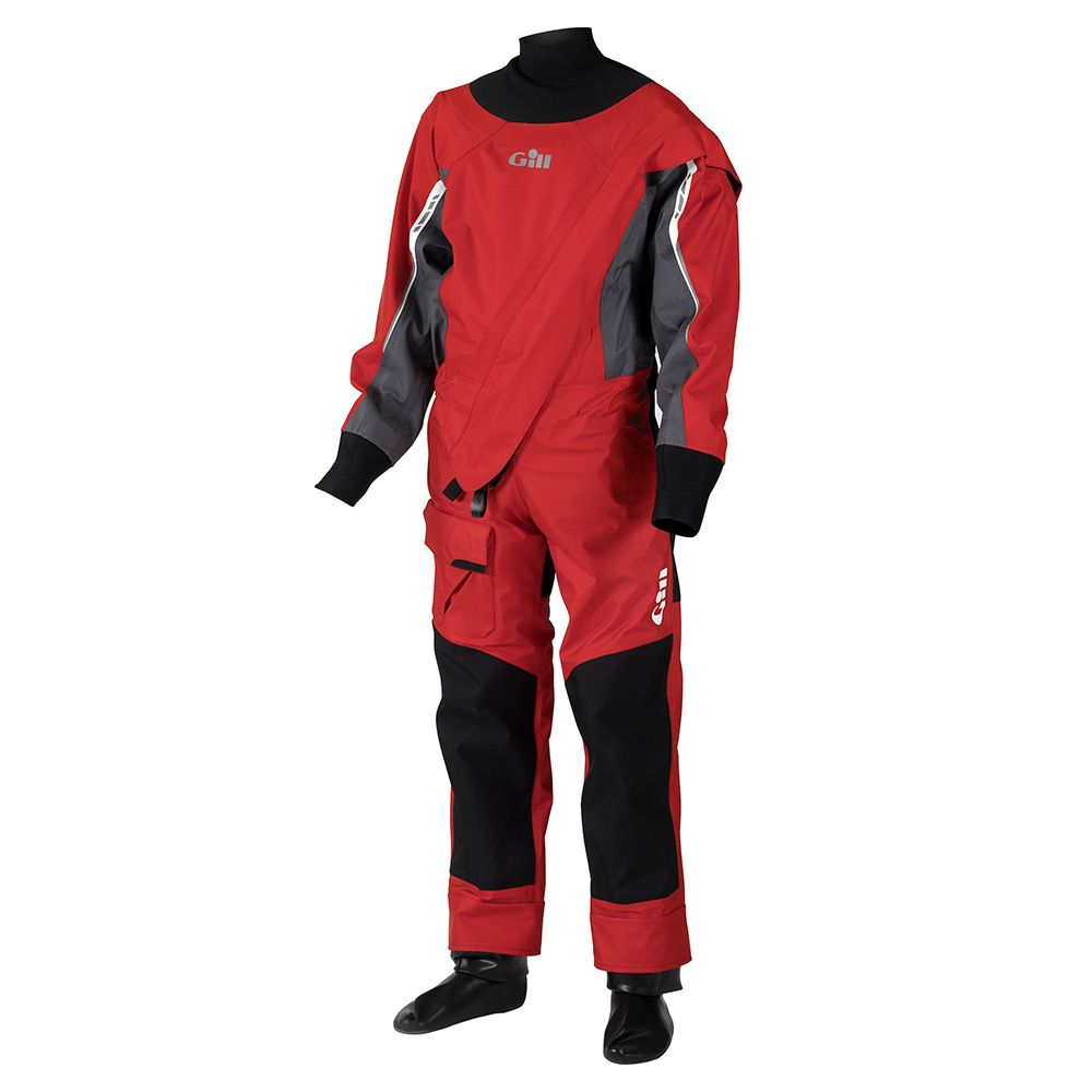 Junior Front Zip Drysuit Black/Grey