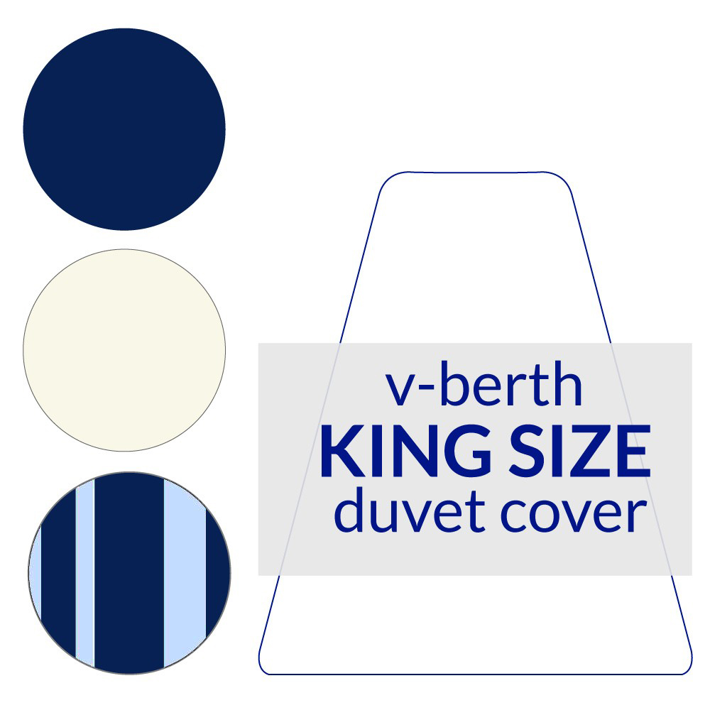 V-Berth Duvet Cover King Size