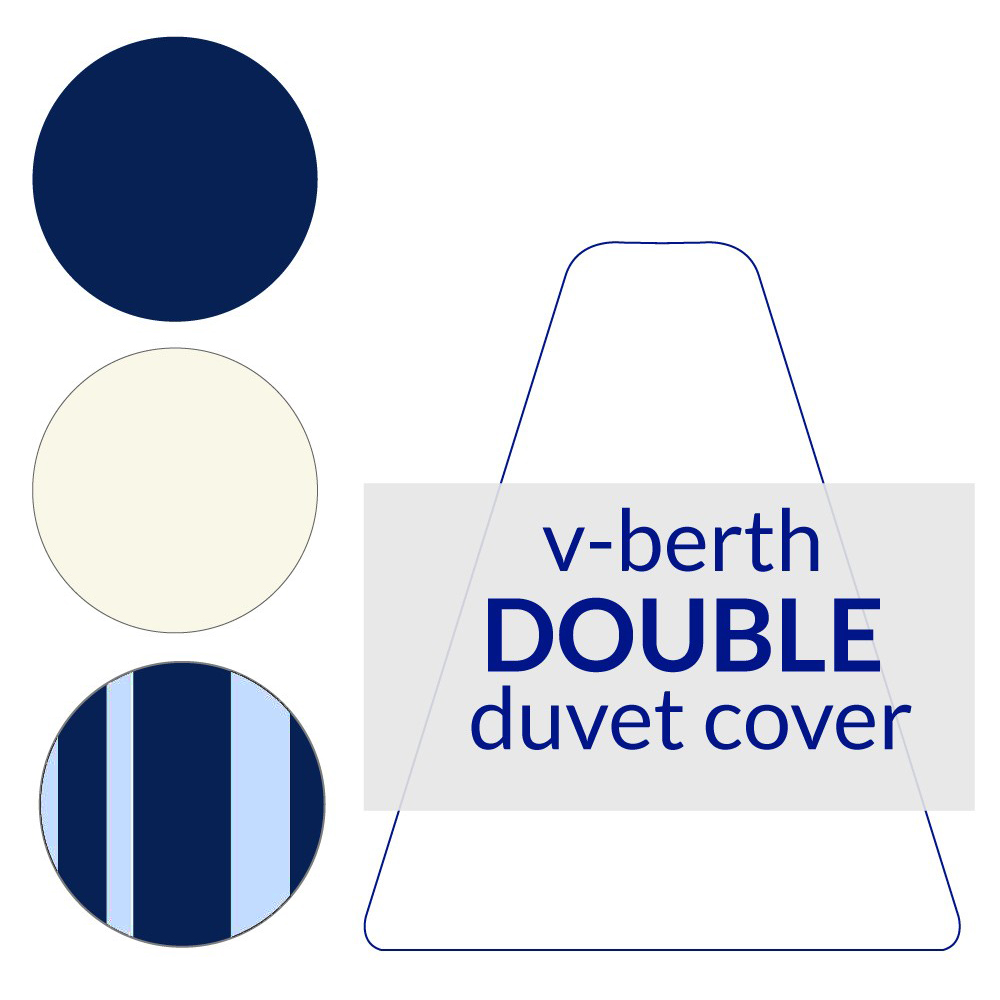 V-Berth Duvet Cover Double