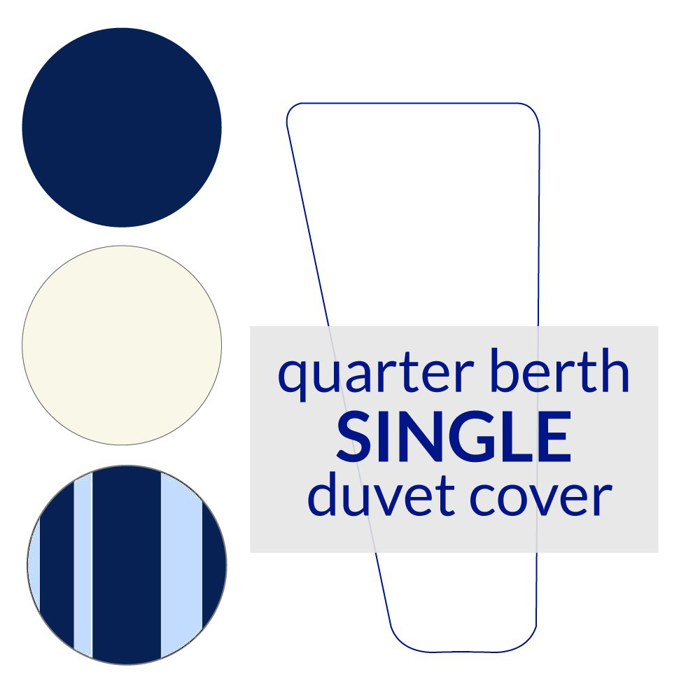Quarter Berth Duvet Cover Single