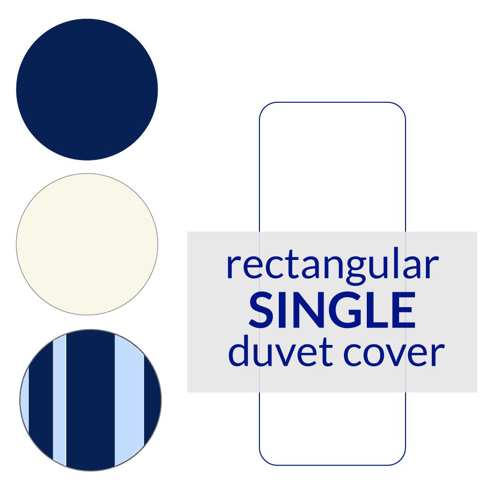 Rectangular Berth Duvet Cover Single