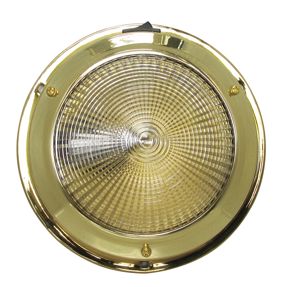 Brass Surface Mounted Light - Small