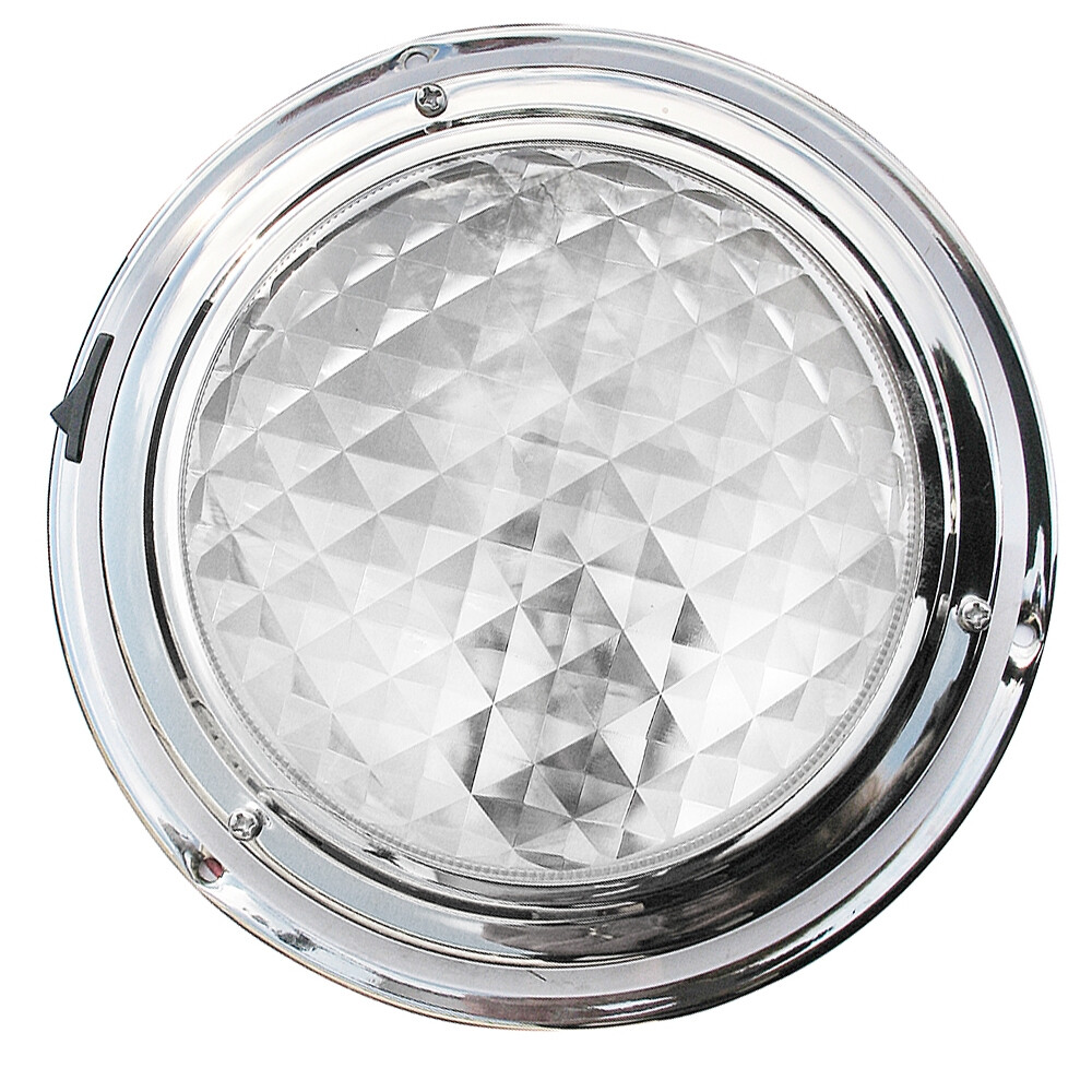 Stainless Steel Surface Mounted Light - Large