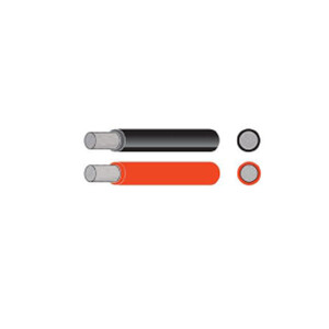 Tinned 50mm2 345A cable red