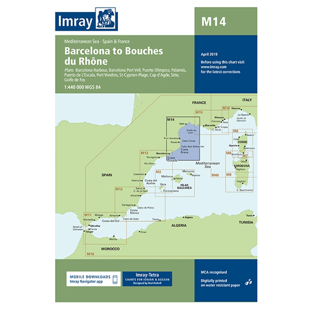 M14 Barcelona to Bouches du Rhone