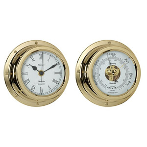 Fitzroy Brass 4 1/2 inch Clock & or Barometer