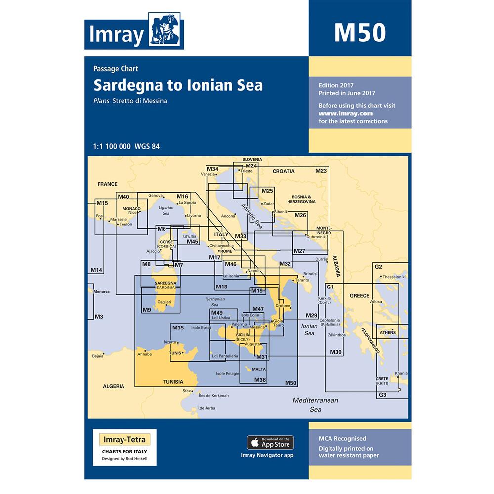 M50 Sardegna to Ionian Sea