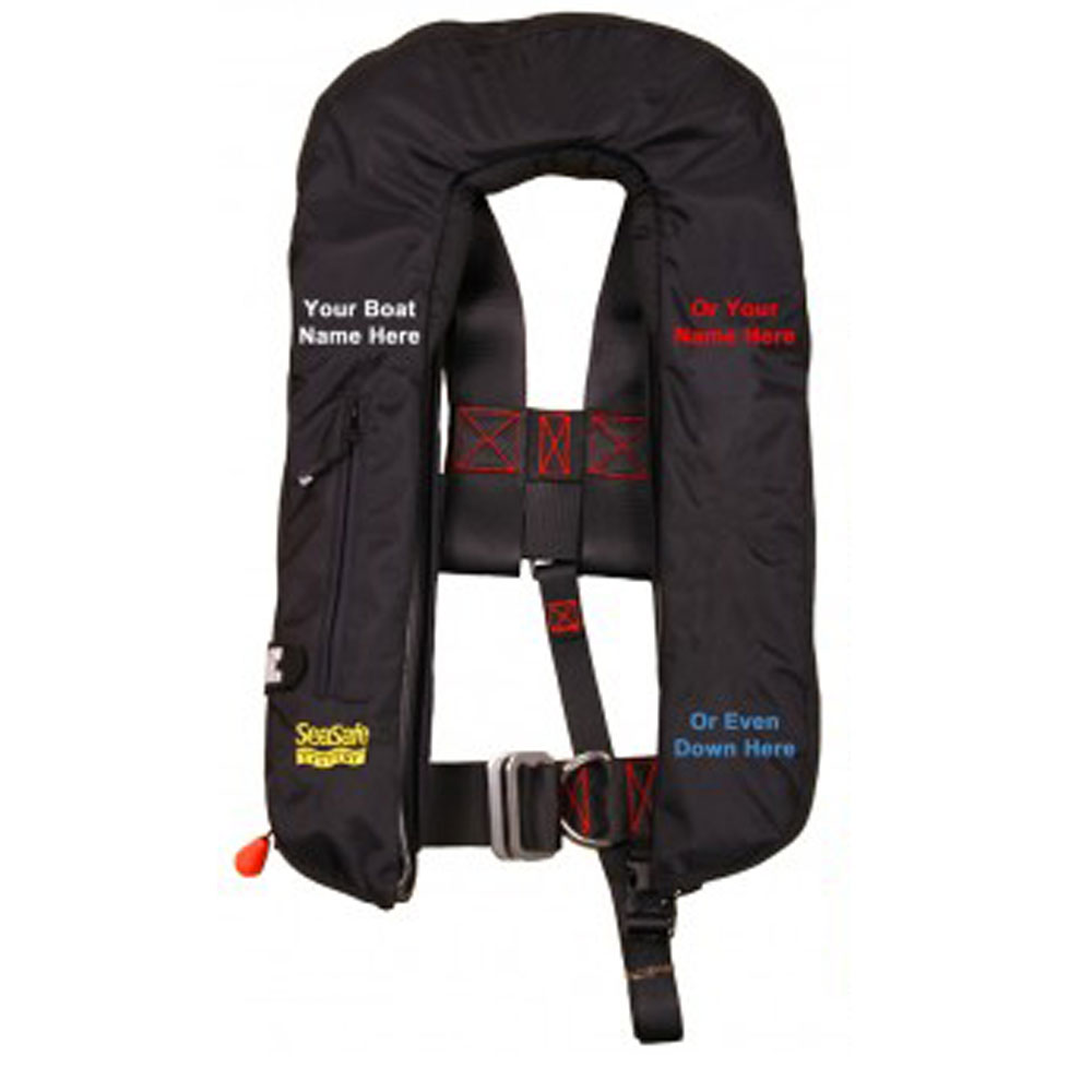Personalised Lifejackets