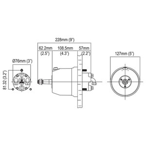 Hyco-OBF Hydraulic Boxed Steering System